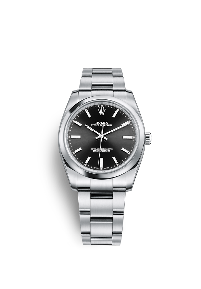 Oyster Perpetual 34, Oyster, 34 มม., Oystersteel