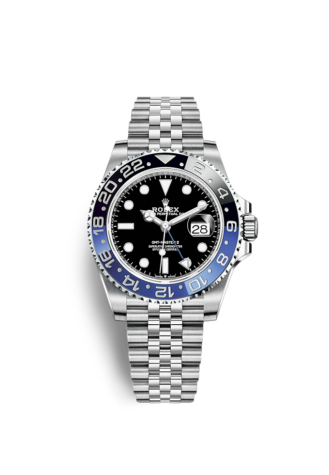 GMT-Master II, Oyster, 40 mm, Oystersteel