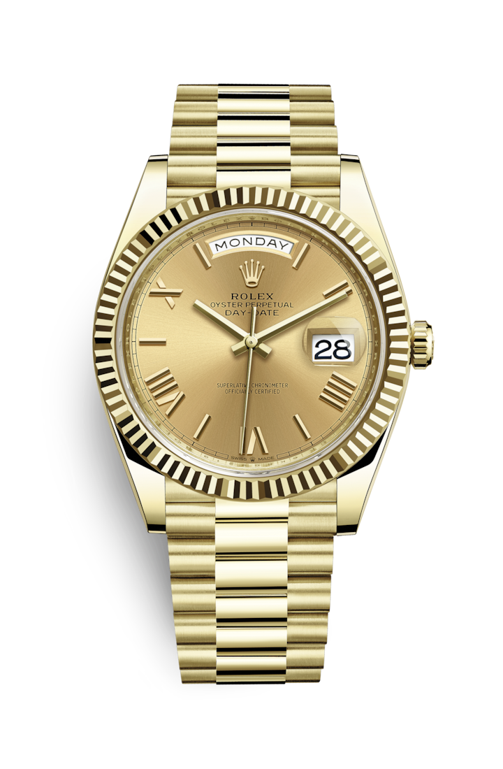 588b39df380 Rolex Day-Date 40 Watch: 18 ct yellow gold - M228238-0006