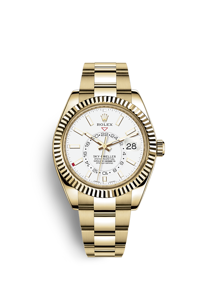 877cff464d813 Rolex Sky-Dweller - The World Travellers  Watch
