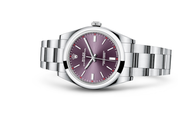 Oyster Perpetual 39 - Red grape, Oystersteel çelik