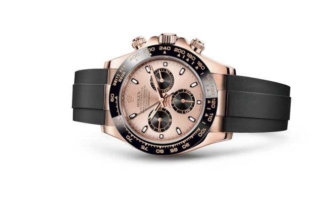 Cosmograph Daytona - Rose et noir, or Everose