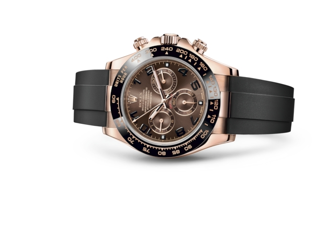 Cosmograph Daytona - Chocolate, oro Everose