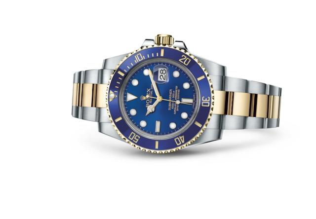 Submariner Date - Blue, Oystersteel and yellow gold