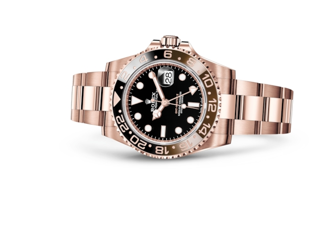 GMT-Master II - Black, Everose gold