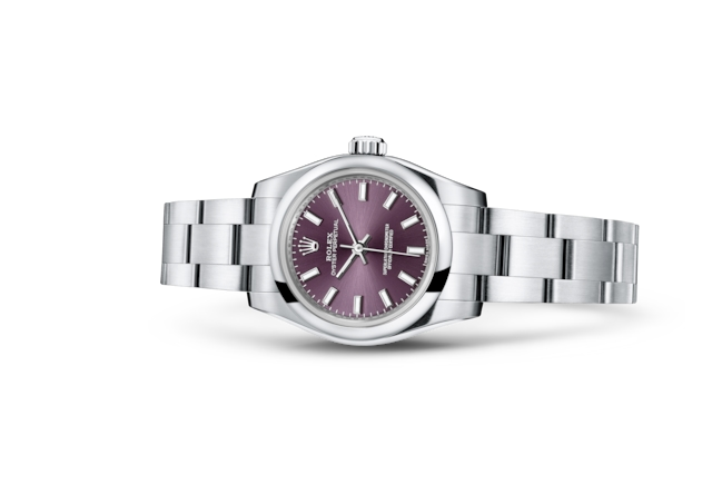Oyster Perpetual 26 - Red grape, Acero Oystersteel