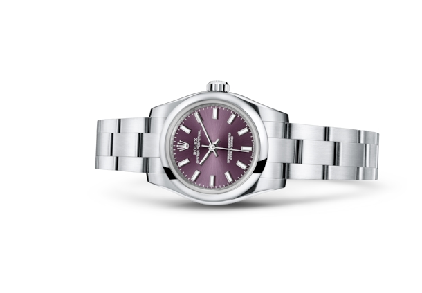 Oyster Perpetual 26 - Red grape, Oystersteel