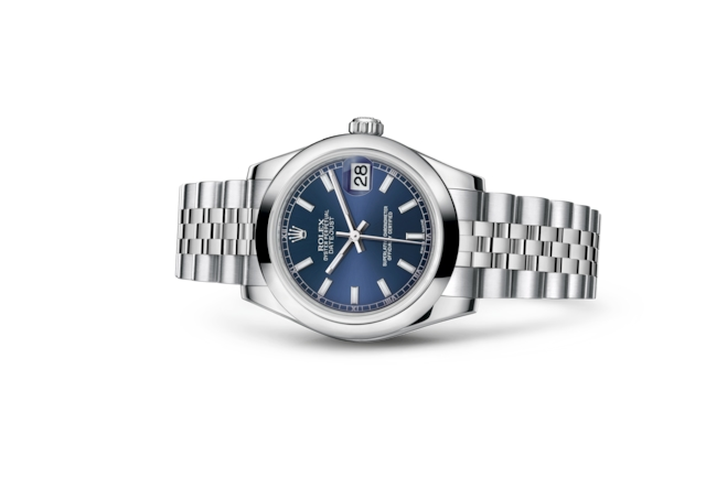 Datejust 31 - Blue, Oystersteel