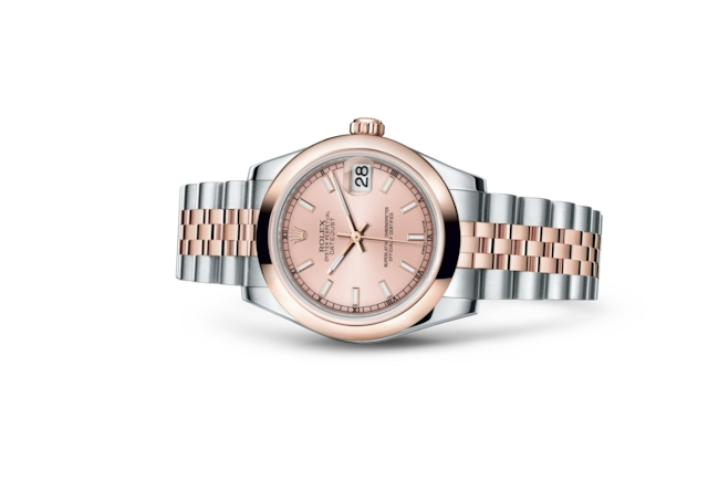 Datejust 31 - Rose, acier et or Everose