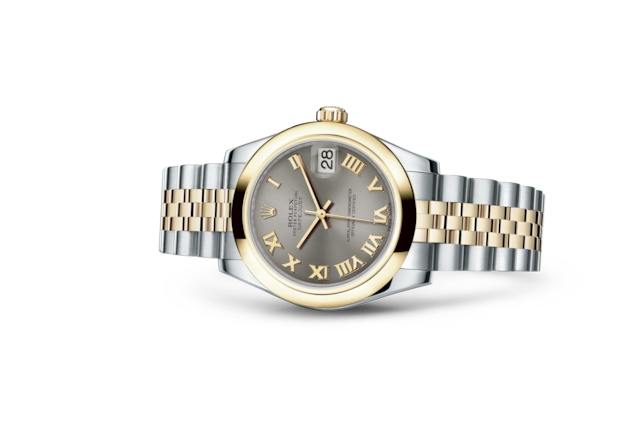 Datejust 31 - Steel, steel and yellow gold