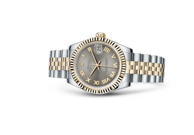 Datejust 31 - Steel, Oystersteel and yellow gold