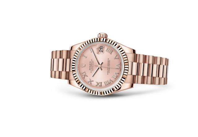 Datejust 31 - Rose, or Everose