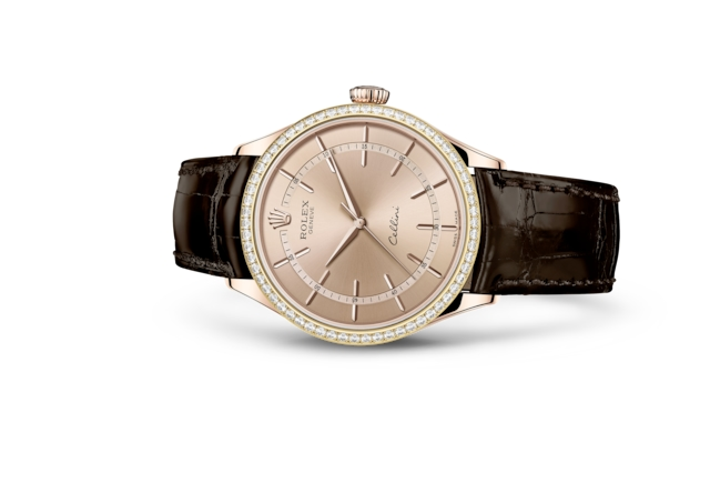 Cellini Time - Rosa, oro Everose e diamanti