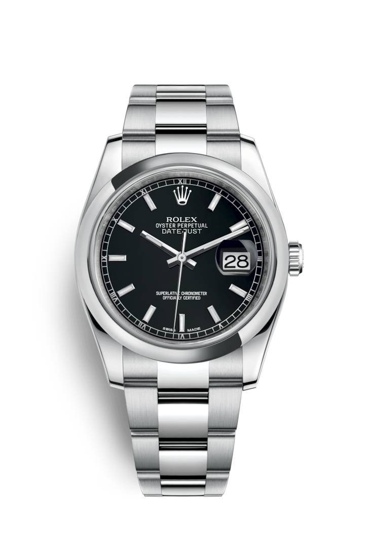 rolex datejust 36 watch oystersteel m116200 0059