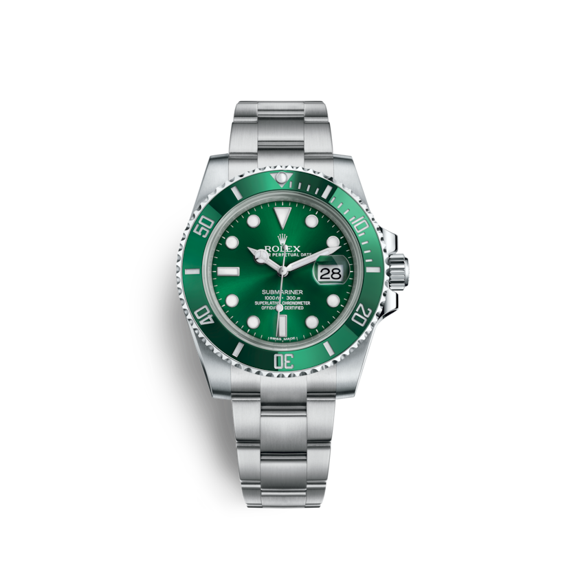 b38250f70f6 Rolex Submariner Date Watch  Oystersteel - M116610LV-0002