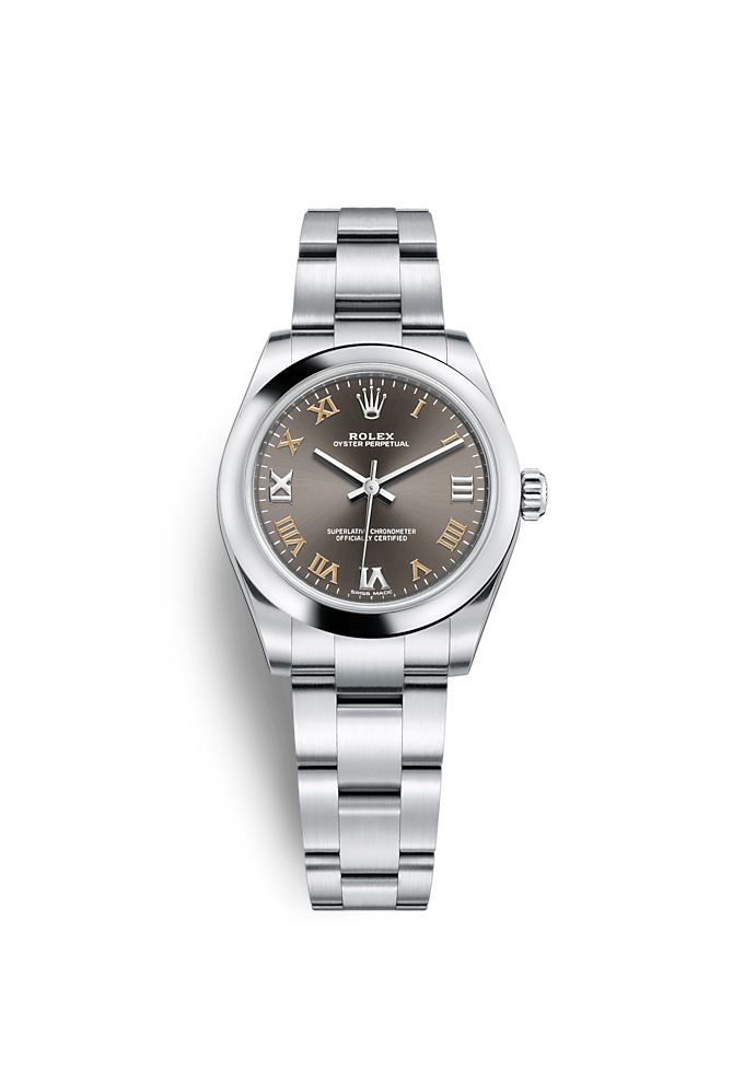 Oyster Perpetual 31, Oyster, 31 mm, acier Oystersteel